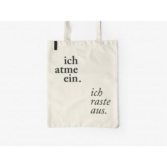 typealive / Baumwolltasche / Ich Atme Ein