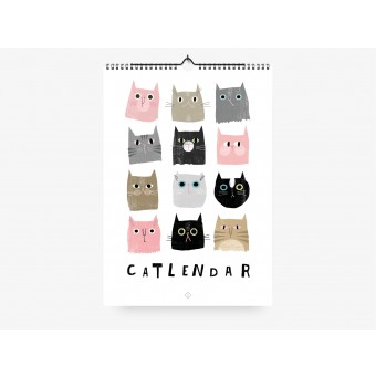 typealive / Wandkalender / Catisfaction