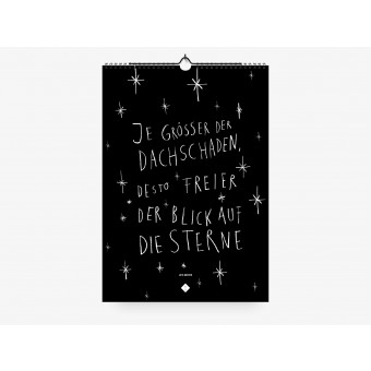 typealive / Wandkalender / Life Quotes