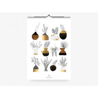 typealive / Wandkalender / Urban Vases 2020