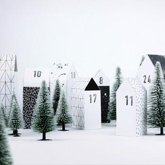 typealive / Adventskalender Dorf / Hyggedorf