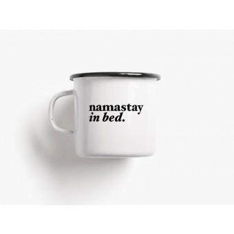 typealive / Emaillebecher Tasse / Namastay