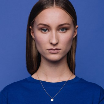 fejn jewelry - Kette 'hexagon'