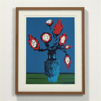 Print now - Riot later ● Vase #4 Siebdruck