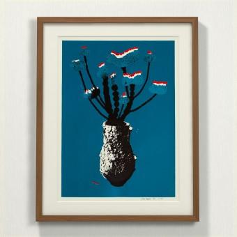 Print now - Riot later ● Vase #5 Siebdruck