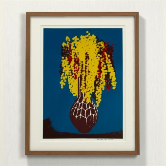 Print now - Riot later ● Vase #6 Siebdruck