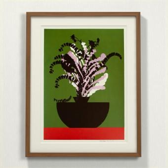 Print now - Riot later ● Vase #7 Siebdruck