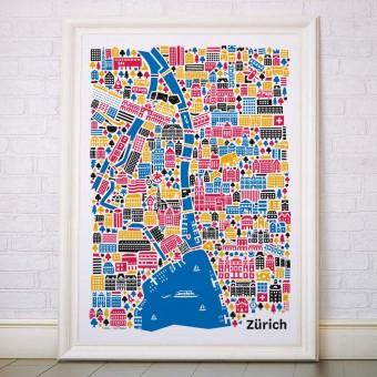 Vianina Zürich Poster 70x100