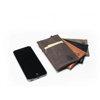 Hülle für iPhone 7 / iPhone 8 mit Visitenkartenfach (Leder) - Burning Love