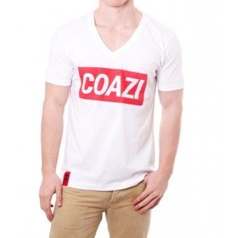 Coazi Red V-Shirt | Bio Baumwolle & Fair Trade