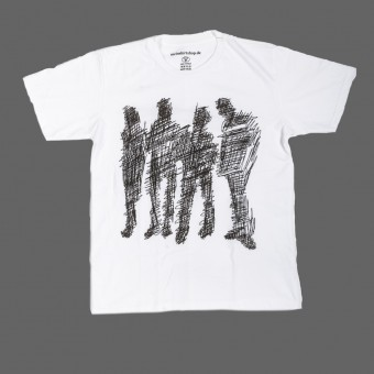 "Unisex T-Shirt ""ordinary people"" white"