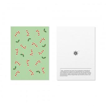 "Edith schmuckes Papier ""Schneeflocke - Postkarten Set"" 2 Postkarten"