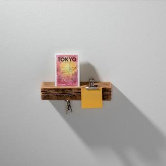 weld & co Schlüsselbrett Altholz 01