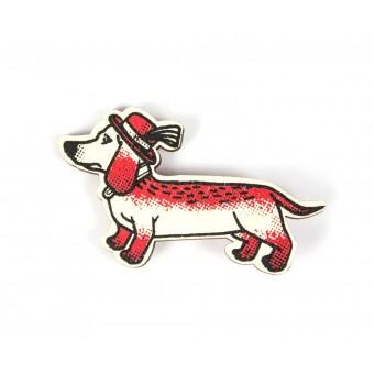 Martin Krusche - Woodpin »Wiener Dog«