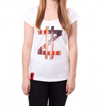 Coazi American Label Wide T-Shirt Female