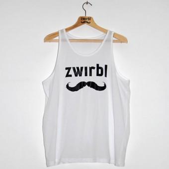 Zwirbl Moustache Tank Top