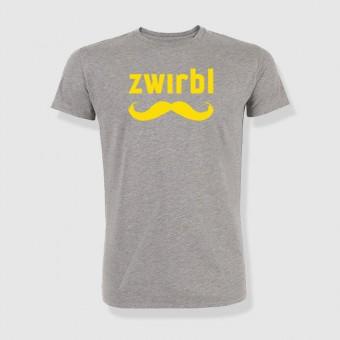 zwirbl Moustache in yellow Shirt